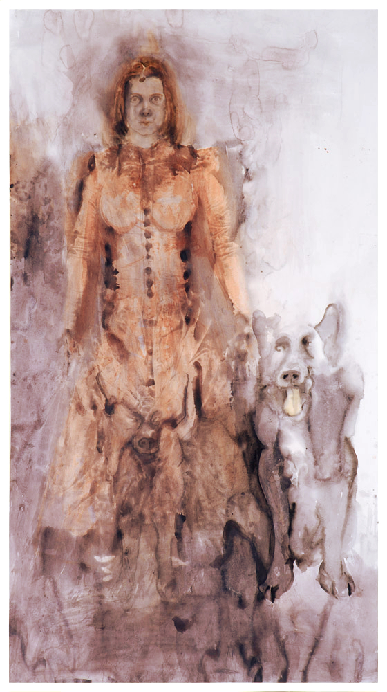 Marie s Kvídem 225x120 cm